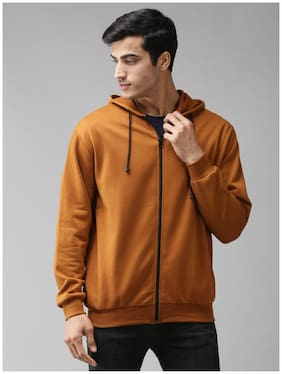 EPPE Men Brown Hooded Hoodie