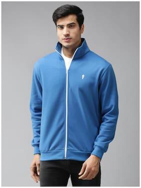 EPPE Men Blue High neck Sweatshirt