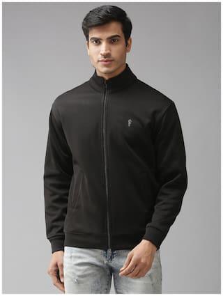 EPPE Men Black High neck Sweatshirt