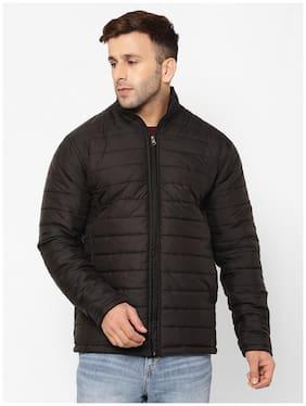 EPPE Men Black Solid Bomber jacket