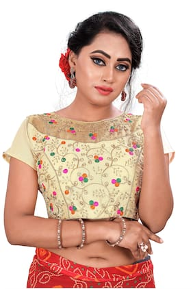 Women Embroidered Blouse