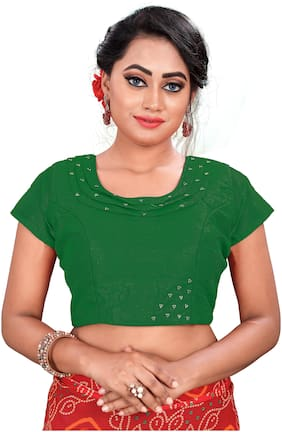Women Solid Blouse Pack of 1