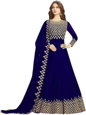 Women Georgette Dress Material Pack of 3