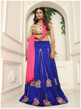 Silk Casual Lehnga Choli