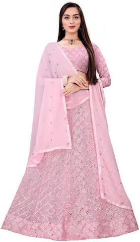 Silk Wedding Lehnga Choli