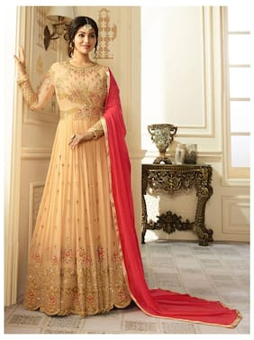 4d9012012 Ethnic Gowns - Designer   Party Gowns for Women at Upto 70% Off