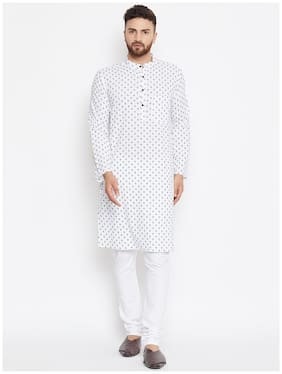 EVEN Men White Regular Fit Kurta