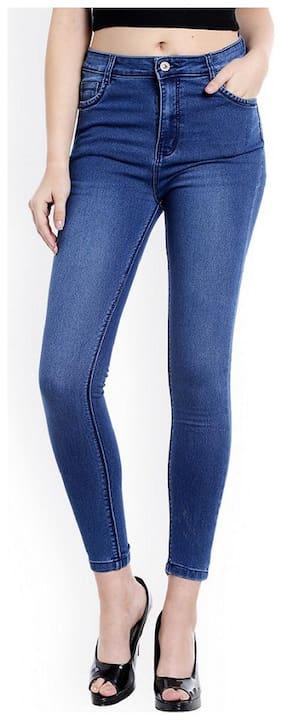 EVERDIVA Women Blue Relaxed fit Jeans