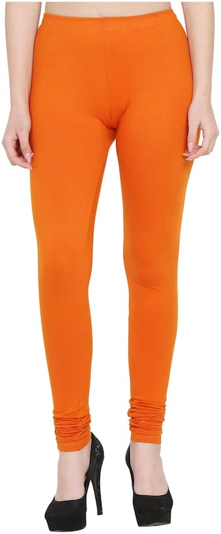 Everlush Lycra Leggings - Orange