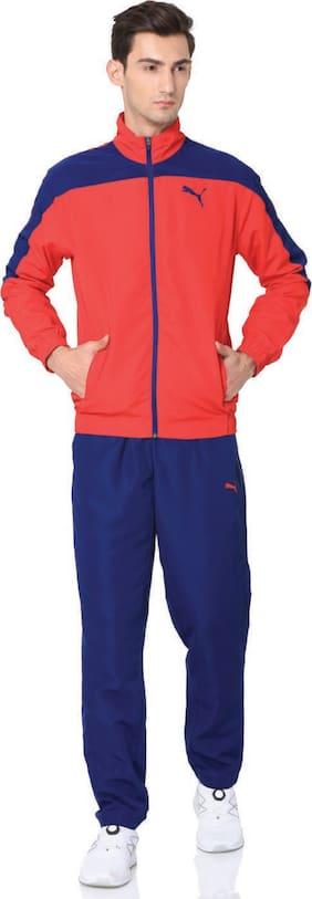 Regular Fit Polyester Blend Track Suit