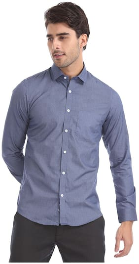 Men Slim Fit Printed Formal Shirt