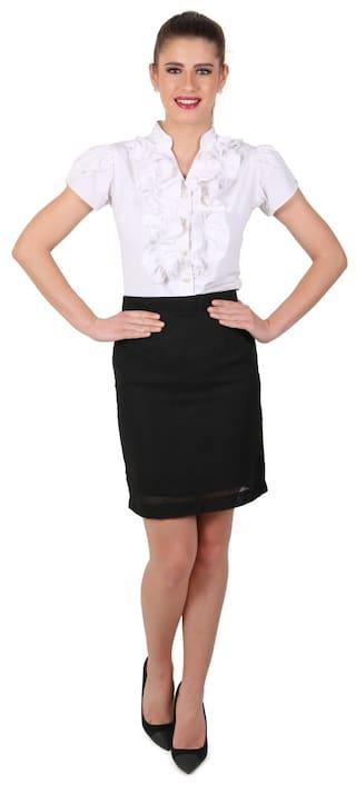 Shirt Eyelet's Short Eyelet's Sleeve Short 8wX6qvxpw