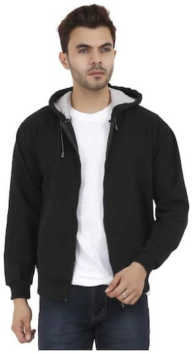 eysom Men Black Solid Sports jacket