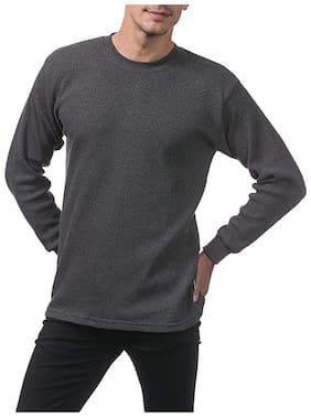 F.Dick Men Cotton Thermal Top - Grey