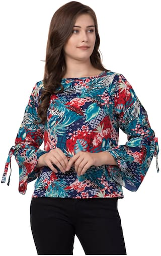 FAB FOREVER Women Floral Regular tunic - Multi