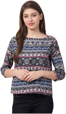 FAB FOREVER Women Floral Regular top - Multi