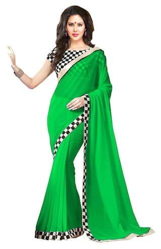 13022c75d53 Buy Fab Ikshvaku Women s Latest Party Wear Designer Fancy Saree ...