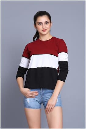 Women Full Sleeves T Shirt