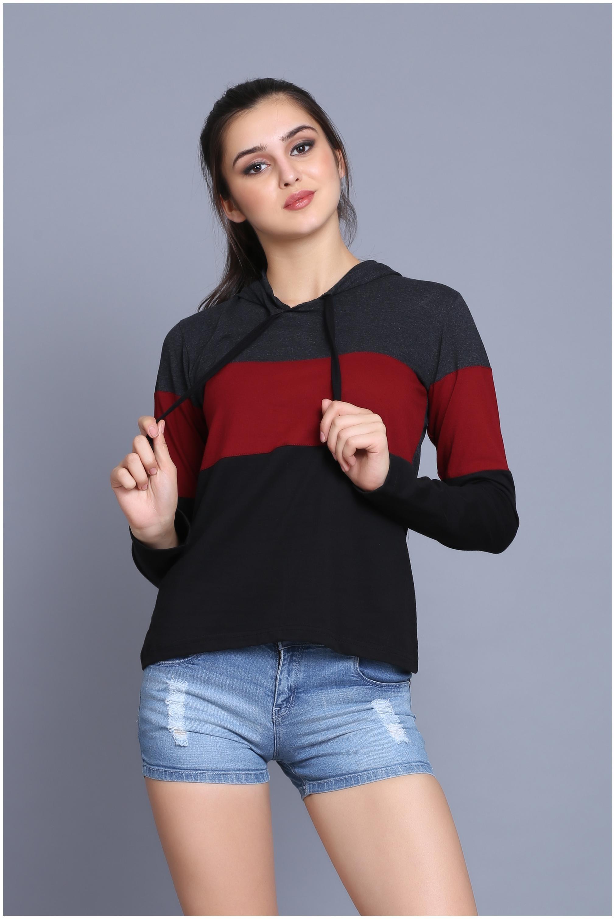 Women Full Sleeves T Shirt ,Pack Of 1