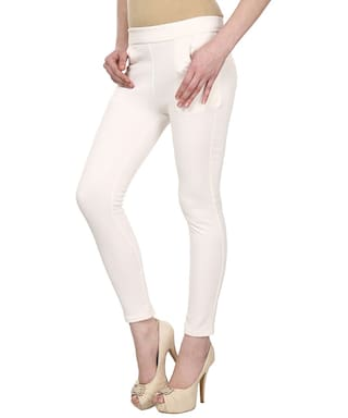 Fabyou Solid Cotton Lycra Jegging