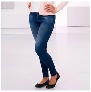 Jeans Women Blue Strechable fit Shapewear n Girl Fasdest Ladies Slim Z6wqB
