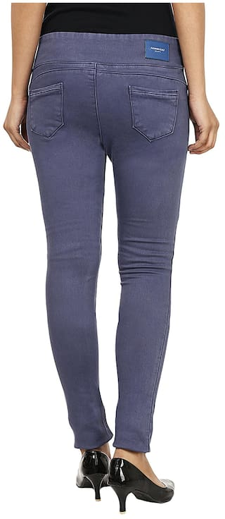 Fashion Jegging Cult Slim Fit Blue Cotton wFR76qAF