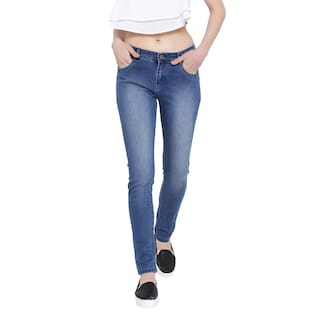 Slim Cult Fashion Denim For Lycra Fit Jeans Blue Women's Ua5Zqx5v