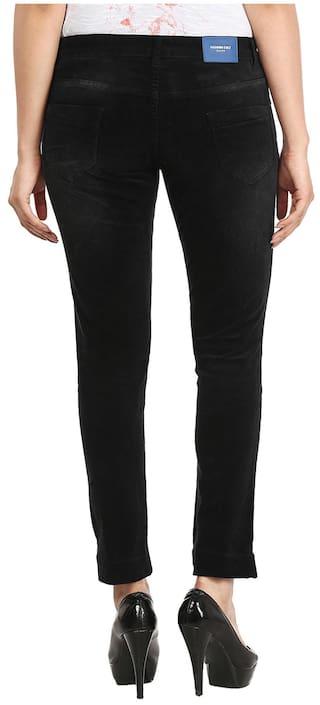 Denim Washed CULT Jeans Lycra Black Light FASHION qwztxf1Px