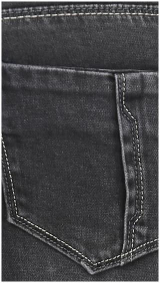 Fashion Jeans Cult Slim Fit Denim Black YwYXqrz