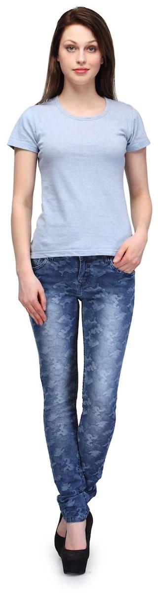 Fashion Jeans Cult Blue Denim 28 Slim Size Fit rqrU8wS