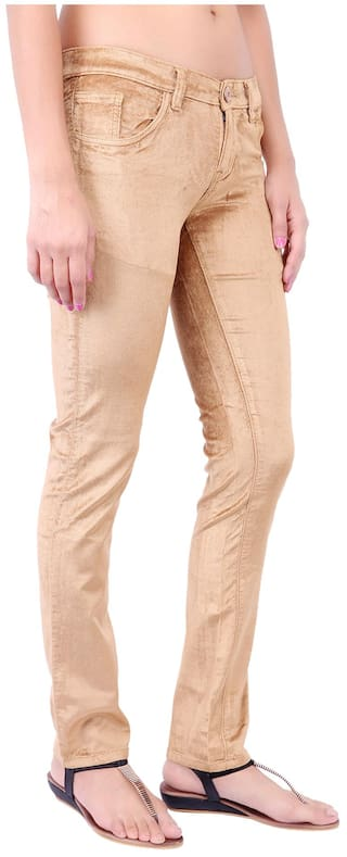 Cult Corduroy Fashion Fit Slim Trouser Beige gZndwUqzw