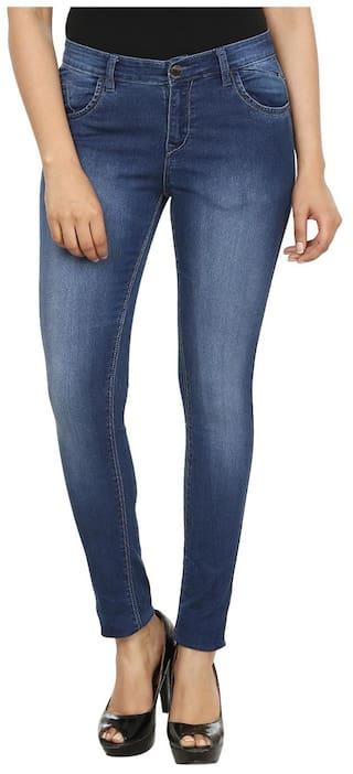 Denim Blue CULT Jeans FASHION Lycra q6wFfwE0