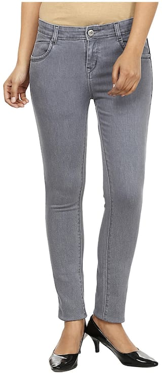 Slim Fashion Fit Cult Grey Jeans Denim Z44x6ngt
