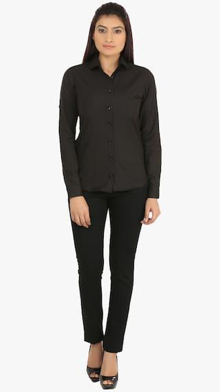 Casual Black Shirt Casual Fashion Cotton Cult wAgqRIU