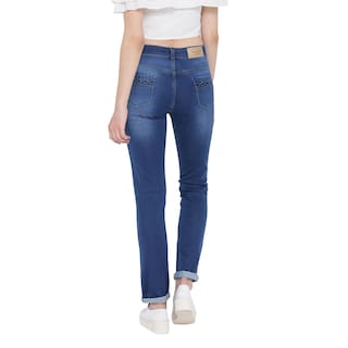 Fashion Stretchable Jeans Women's Blue Cult For Denim r0HPrWq