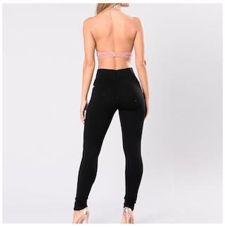 Fashion Ladies Leggings Elastic High Waist Slim Pencil Pants