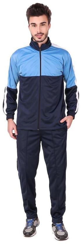 FASHION 7 Men Multi Solid Regular Fit Track Suit