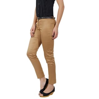 Women's Beige Trousers Fit Slim Fashionstylus xAY4wqSY8