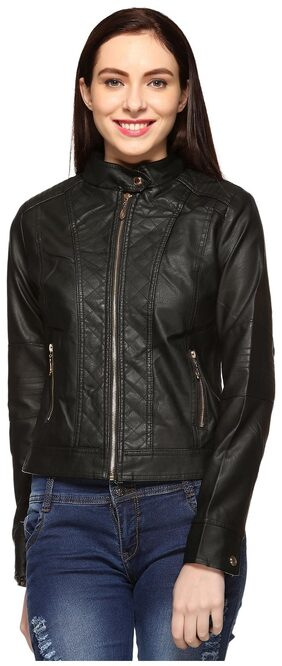 Fasnoya Leather Jacket for Women