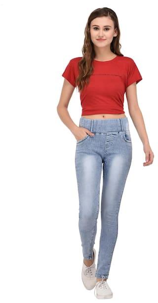 Waist Mid Jeans Women for Fasnoya 5Rgqxw0vW