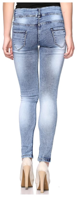 Jeans Women Double for Waist Mid Fasnoya Button xPIwz7Sxq