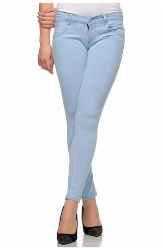 Fasnoya Skinny Fit Jeans for Women