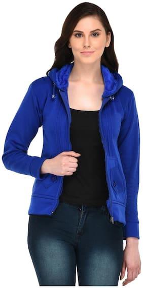 Fasnoya Women Solid Puffer jacket - Black