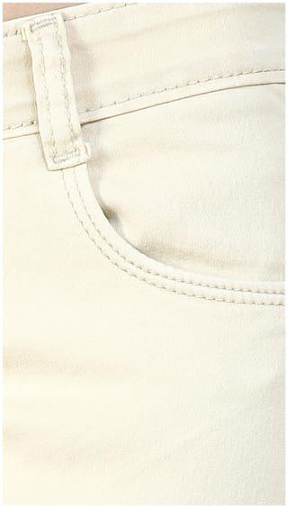 3 FCK Slim Fit Beige Denim Jeans 74f4qwd