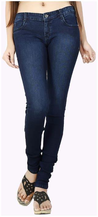 FCK-3 Blue Slim Fit Denim Jeans