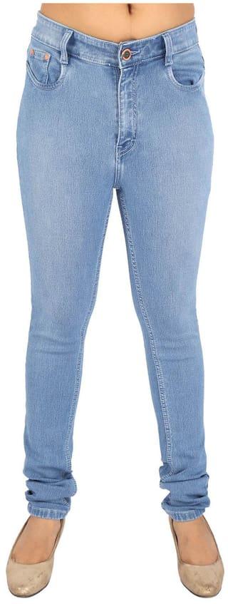 Light Cotton 3 Denim And Jeans Slim Blue Fit Fck pxwat5ZZ