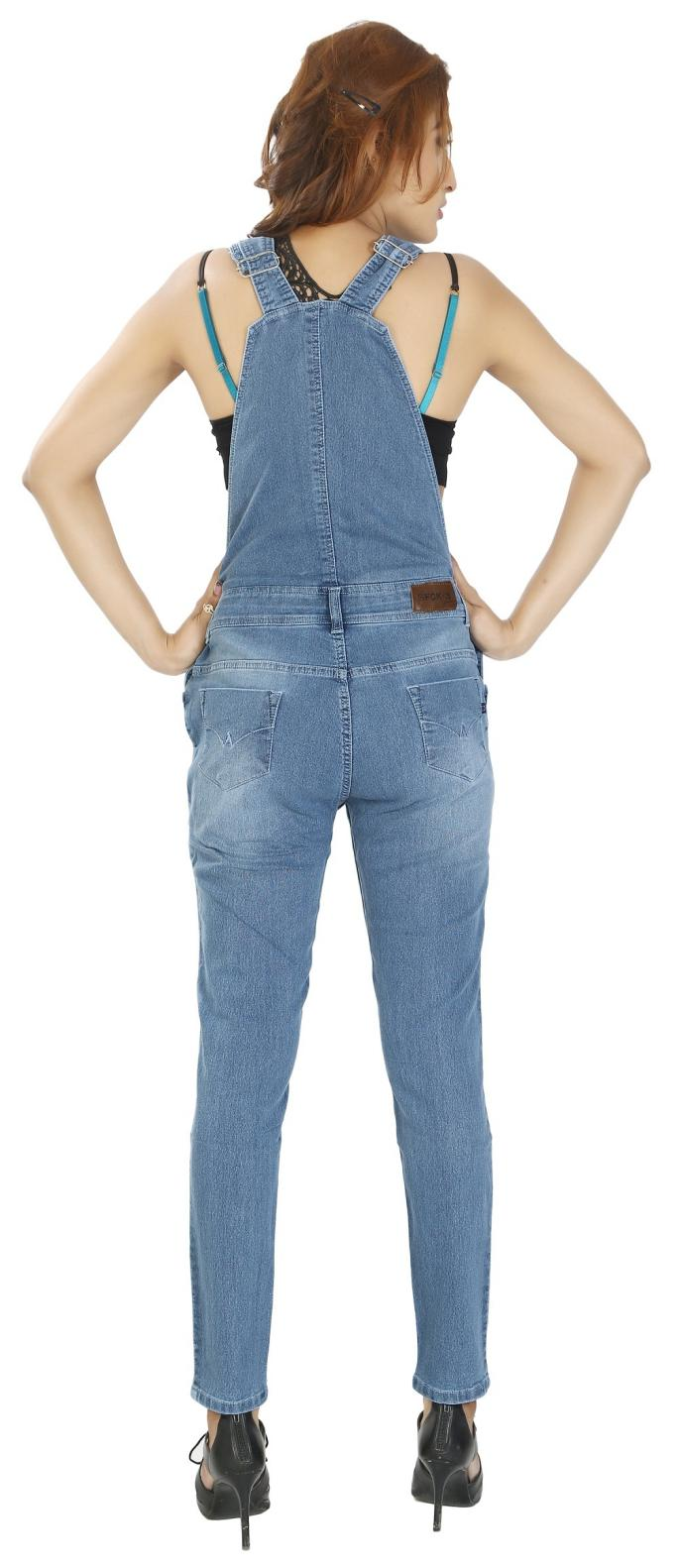 b68e5f5397b0 Buy Fck-3 Women s Denim Dungree Online at Low Prices in India -  Paytmmall.com