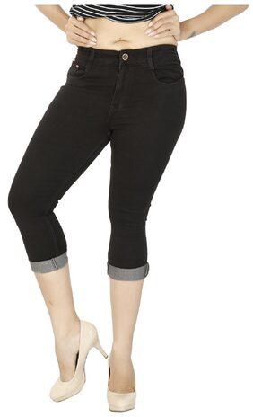 FCK-3 Women Solid Shorts - Brown
