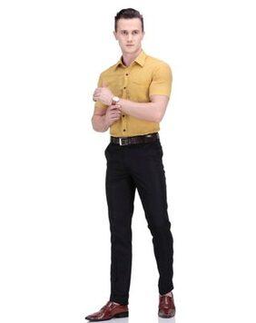 Febulous Black Formal Pant For Mens