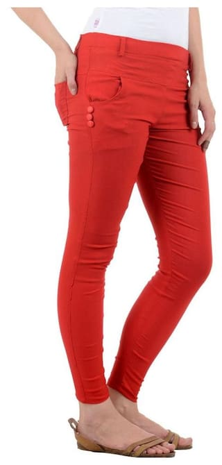 Red Red Women's Women's Jeggings Jeggings Red FeelBlue FeelBlue FeelBlue Jeggings Jeggings FeelBlue Red Women's FeelBlue Women's qOZnxwIgqA